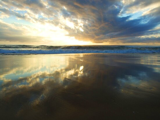 Sunrise on Fraser Island 2 by Ben de Putron