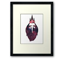 Space Ice King Framed Print