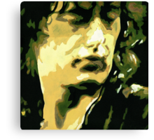The Legend Jimmy Page Canvas Print