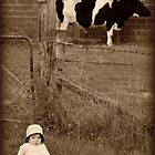 Meggy and the Giant Cow by kaneko