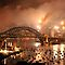 One Year Gone  And Another Begins - New Years Eve , Sydney Harbour    by Philip Johnson