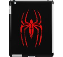 Spider-Man Segmented Logo (Red on Black) iPad Case/Skin