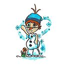 Cosplay Kids - Olaf by Tony Heath