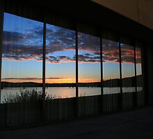 Sunrise in Windows by Graham Schofield