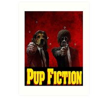 Pup Fiction Art Print
