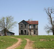 Missouri Country Ruins by Mary Kaderabek-Aleckson