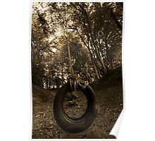 Tyre swing Poster