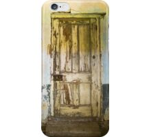 Knock. Knock. Noone there. iPhone Case/Skin