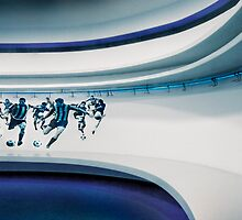 Inter Milan Changing Room by Darren Burdell
