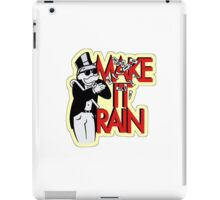 Making It Rain iPad Case/Skin
