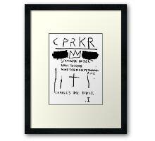 CPRKR Framed Print
