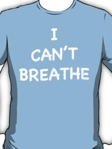 I CAN'T BREATHE SHIRT (Derrick Rose Eric Garner)  T-Shirt
