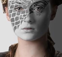 Sansa Stark Direwolf House War Paint Sticker