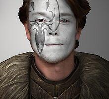 Theon Greyjoy Kraken House War Paint  by HilaryHeffron