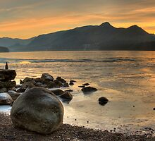 Sunset on Derwent Water by Rich Gale