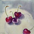 New season cherries by Barbara Gray