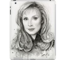 Doctor Beverly Crusher - Star Trek fan Art iPad Case/Skin