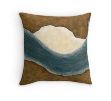Murray River View Throw Pillow