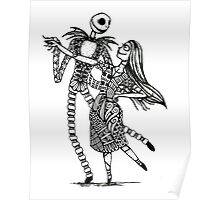 Jack and Sally, The Love Story Poster