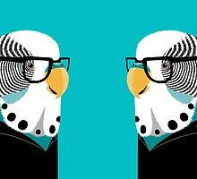Birdbrain mug by kernelcopia
