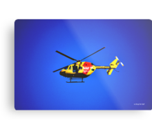 SURF RESCUE HELICOPTER Metal Print