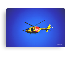 SURF RESCUE HELICOPTER Canvas Print