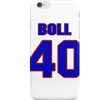 National Hockey player Jared Boll jersey 40 iPhone Case/Skin