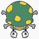 Rotten Mushroom (Green) by swiftyspade