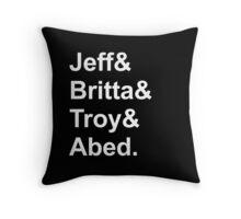 Cool Cool Cool Cool Shirt Throw Pillow