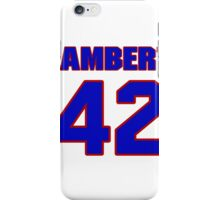 National Hockey player Denny Lambert jersey 42 iPhone Case/Skin