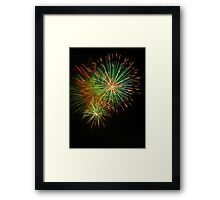 fireworks - 1 Framed Print