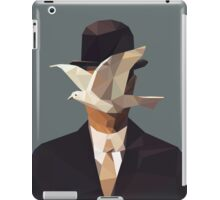 The Man In The Bowler Hat -Magritte- iPad Case/Skin