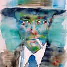 ROBERT OPPENHEIMER - watercolor portrait by lautir
