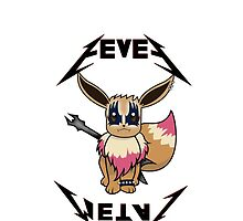 Eevee Metal - CHECK THE DESCRIPTION FOR MORE  by alwaid