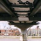 Millenium bridge from below by Kayleigh Sparks