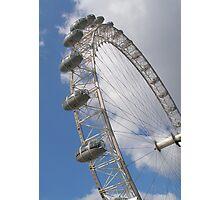 Millennium Wheel, London Photographic Print