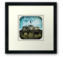 Collide With The Sky Framed Print