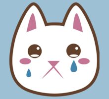 Super cute Chibi Kawaii kitten SAD :( T-Shirt