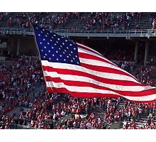 American Flag at the Horseshoe Photographic Print