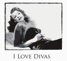 i love divas- Rita Hayworth by Juana Luján