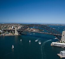 Sydney from above by norgan