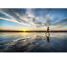 Sunset Run Photographic Print