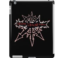 Death to the false emperor - Warhammer iPad Case/Skin