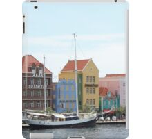 Sailing Boat in Willemstad iPad Case/Skin