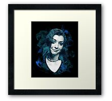 Splatter Willow Framed Print