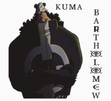 ONE PIECE - Bartholomew KUMA by MAHDY92