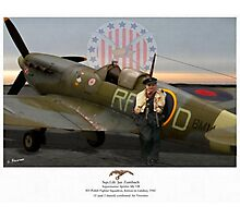 Sqn. Ldr. Jan Zumbach Photographic Print