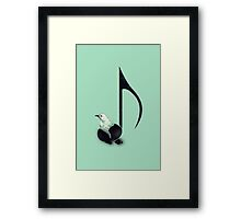 Born to Sing Framed Print