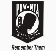 Remember Them POW MIA by Ryan Houston