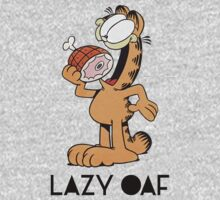 Garfield Lazy Oaf by toogoodforyou